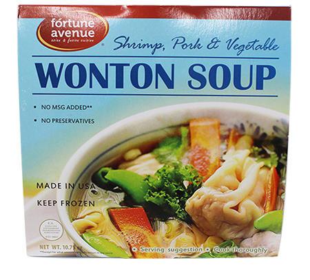 WONTON SOUP (SHRIMP/PORK/VEGETABLE)