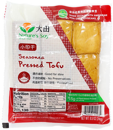 SEASONED PRESSED TOFU
