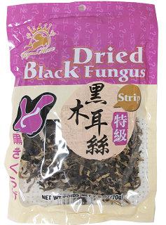 DRIED BLACK FUNGUS (STRIP)