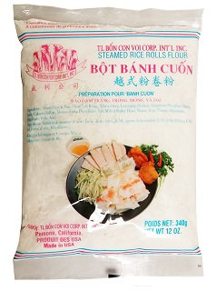 STEAMED RICE ROLLS FLOUR (BANH CHON)