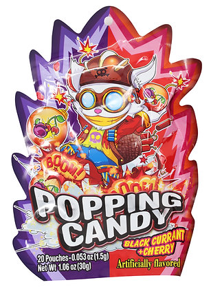 POPPING CANDY (BLACK CURRANT & CHERRY)