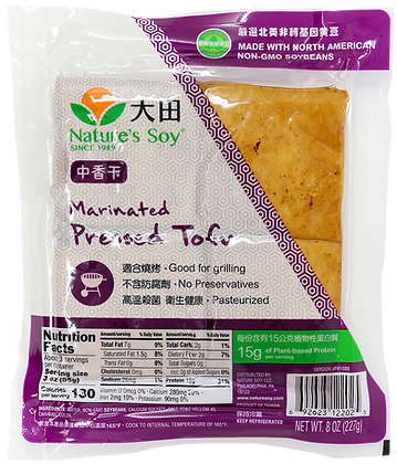 MARINATED PRESSED TOFU