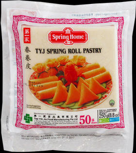 SPRING ROLL SKIN 5'' (50 SHEETS)