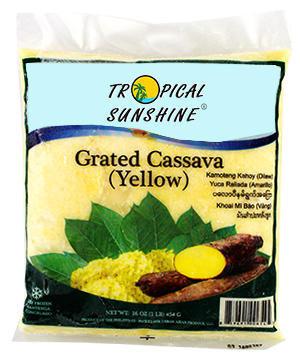 CASSAVA GRATED YELLOW