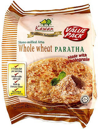 PARATHA WHOLE WHEATBULK (25 SHEETS)