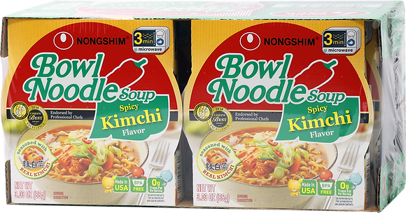 SPICY KIMCHI BOWL NOODLE