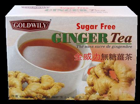 INSTANT GINGER TEA (SUGAR FREE)