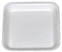 WHITE FOAM TRAY [5X5X5/8]