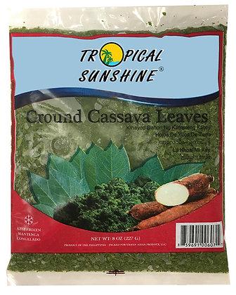 GROUND CASSAVA LEAVES