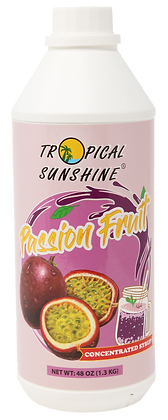 PASSION FRUIT JUICE SYRUP