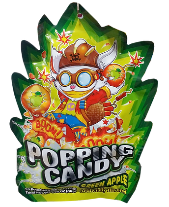 POPPING CANDY (GREEN APPLE)