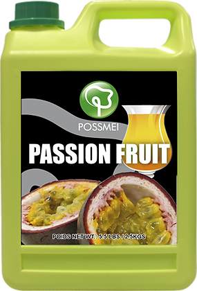 PASSION FRUIT SYRUP