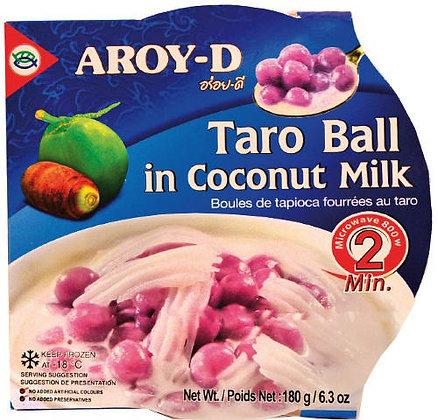 TARO BALL IN COCONUT MILK