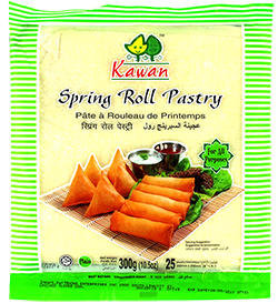 SPRING ROLL PTY 8'' (25 SHEETS)
