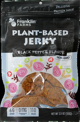 BLACK PEPPER FLAVOR PLANT BASE JERKY