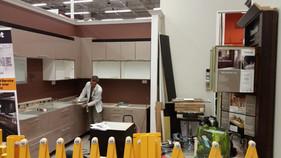 Home Depot Kitchen Display