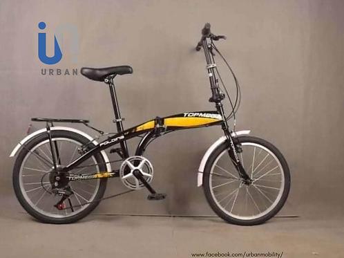 Top Mega | 7 Speed | 26 Steel Frame | Folding Bike