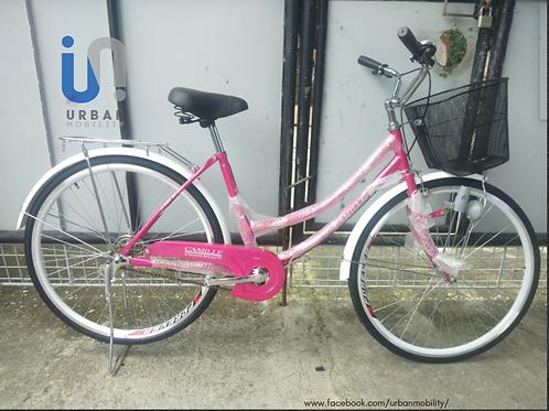 Camille | 26 x 1 3/8  | Big Tubing Steel Frame | Lady's Bike