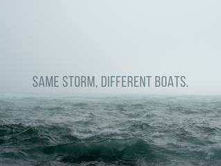 Same Storm, Different Boats
