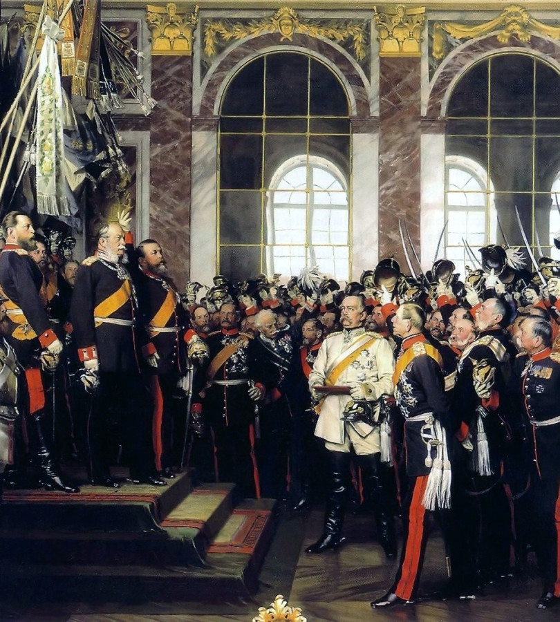 Versailles, proclamation Empire Allemand