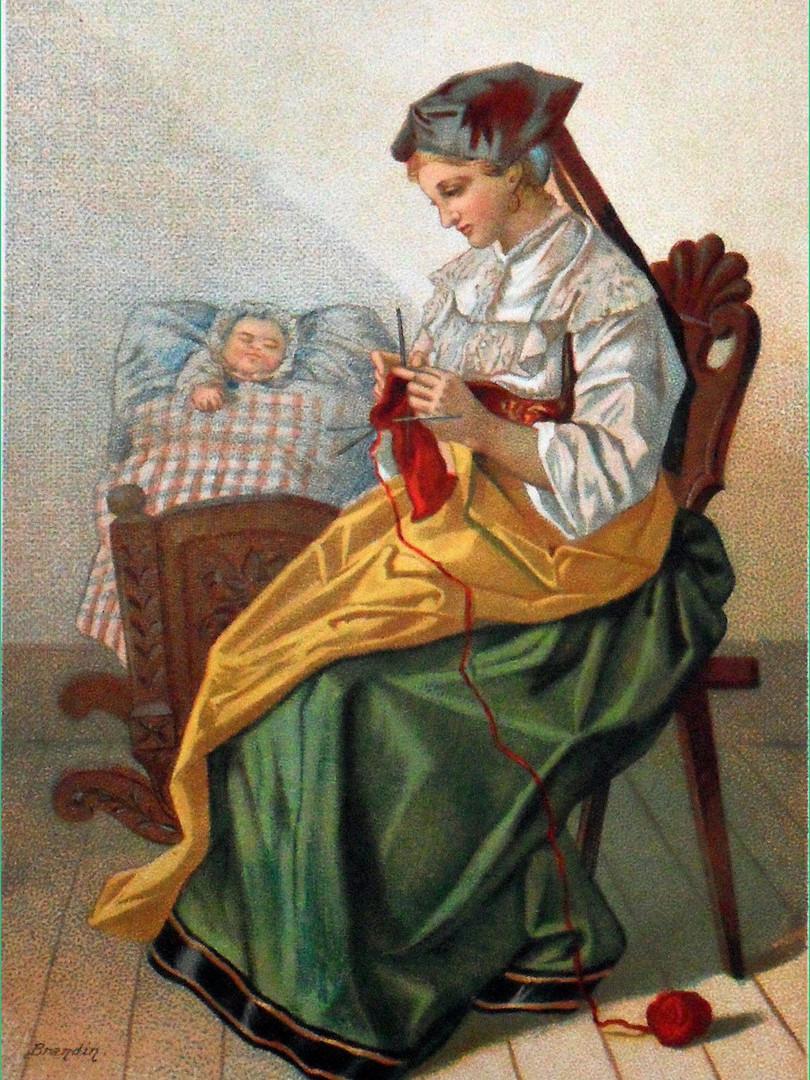 Mère alsacienne de Brandin