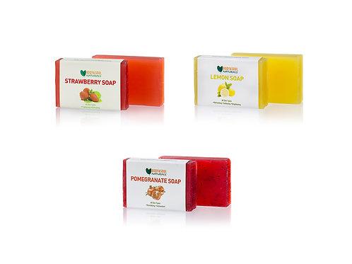 Fruity Soap Trio