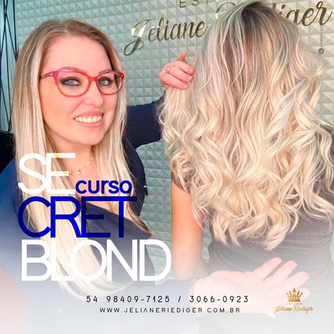 CURSO SECRET BLOND