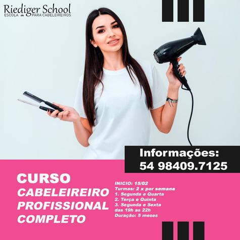 CURSO CABELEIREIRO PROFISSIONAL