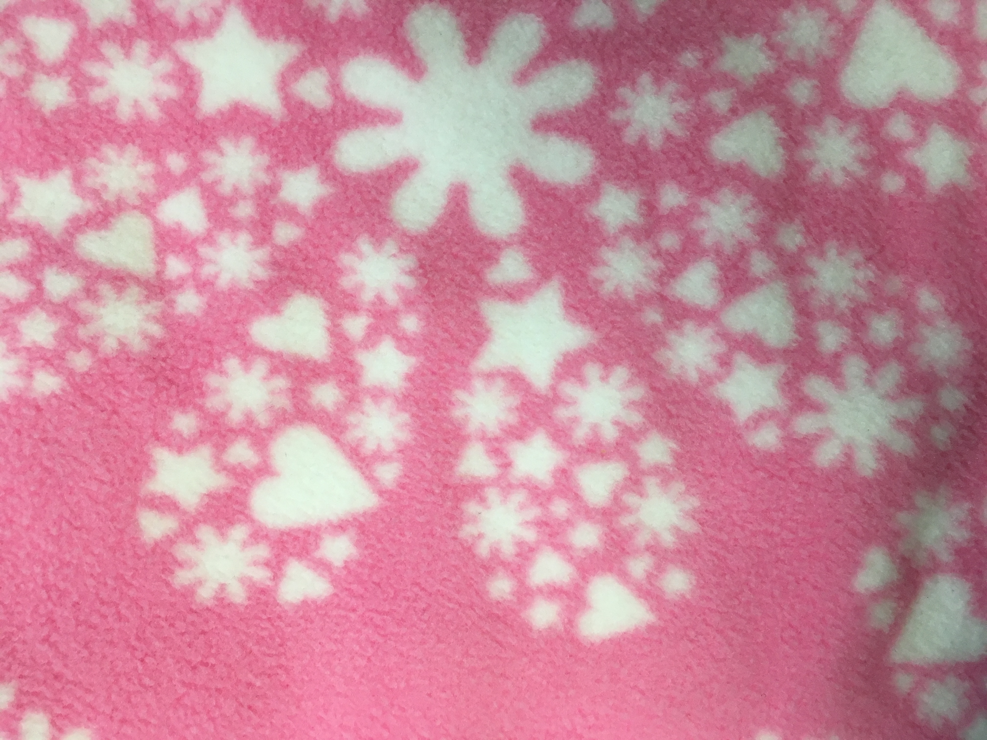 Pink Snow Flakes