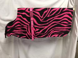 Pink Black Zebra 24