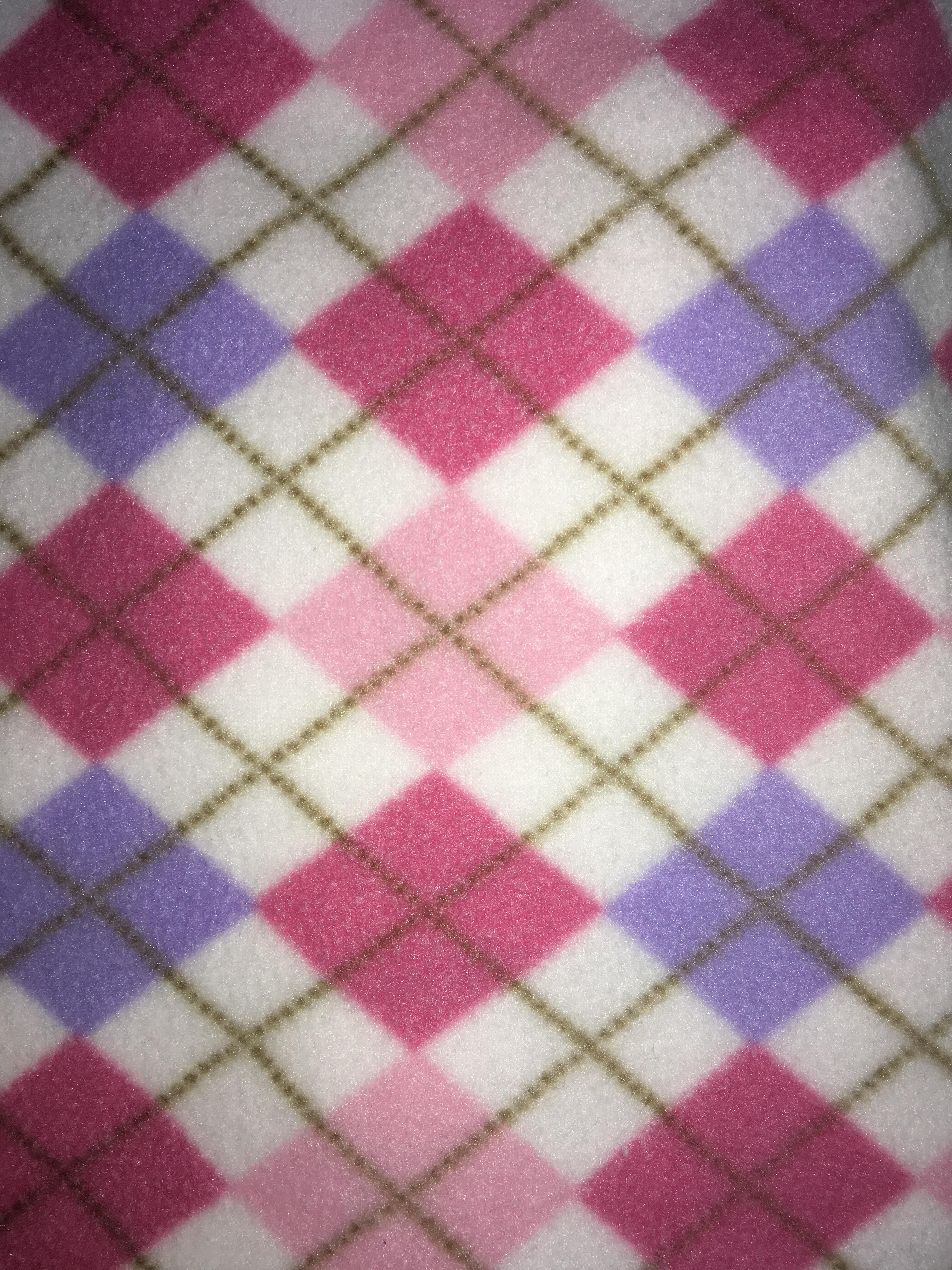 Pink/Lavender Argyle