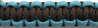 Walnut/Turquoise