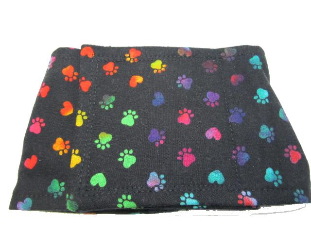 multicolor paws