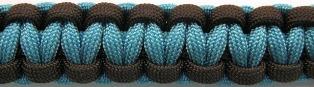 Turquoise/Walnut