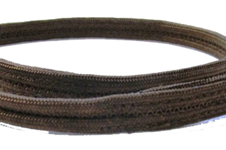 Double strand show collar