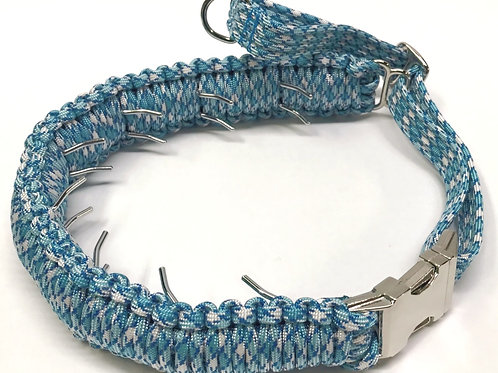"""12-19"""", six prong Limited Edition Easy-on Pinch Collars  $46.00"""