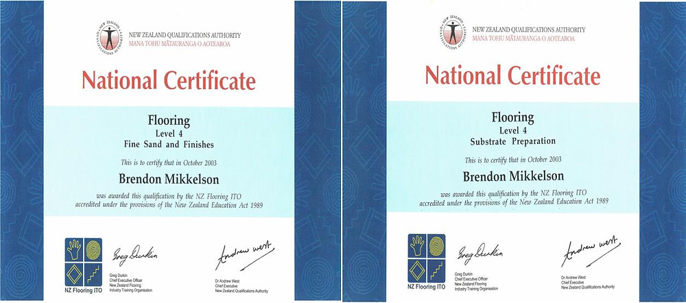 NZQA Qualified & Professional Floor Sanding Expert