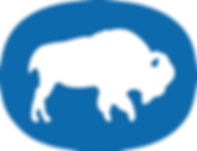 buffalo in circle Blue.png