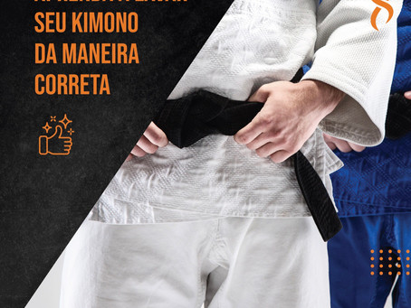 Como lavar seu kimono da maneira correta!