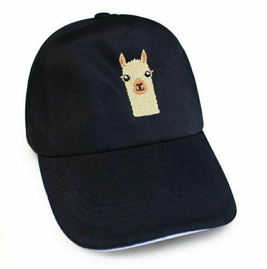 ALPACA FACE BASEBALL CAP