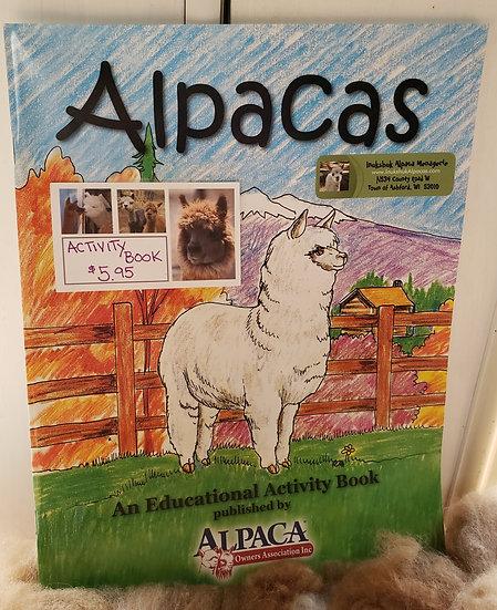 ALPACA ACTIVITY BOOK