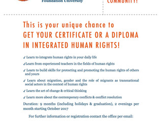 Human Rights Education in Amsterdam