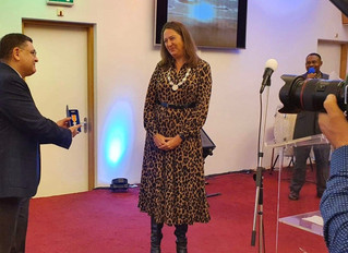 The Speech of Deputy Mayor of Amsterdam, Mrs. Marjolein Moorman During My Royal Award Ceremony