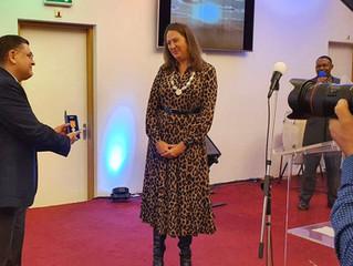 The Speech of Deputy Mayor of Amsterdam, Mrs. Marjolein Moorman During My Royal Award Ceremony