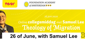 Seminar: Theology and Migration with Tear & Foundation Academy