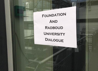 Radboud University students visit Foundation Academy of Amsterdam