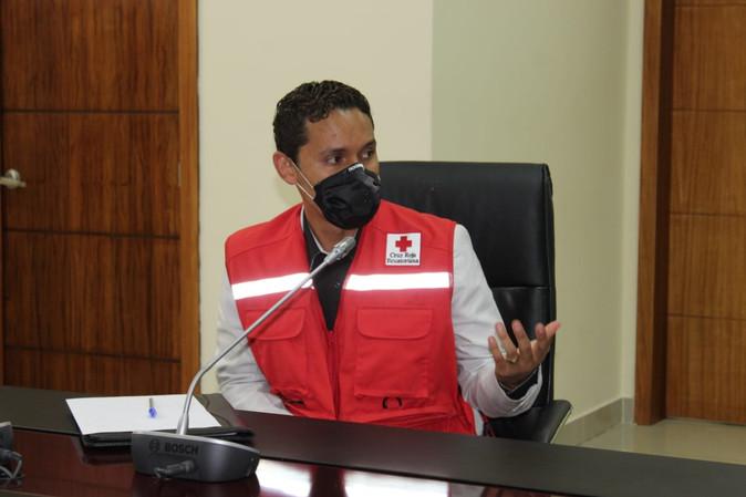 Cruz Roja de Imbabura activa una ambulancia al sistema ECU 911