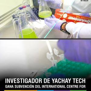 Investigador de Yachay Tech gana subvención del ICGEB