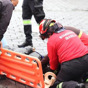 Dos heridos con arma de fuego en Ibarra
