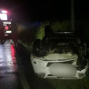 Un siniestro de tránsito en el sector de San Pedro fue gestionado por el ECU 911